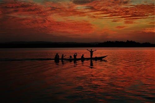 Základová fotografie zdarma na téma západ slunce