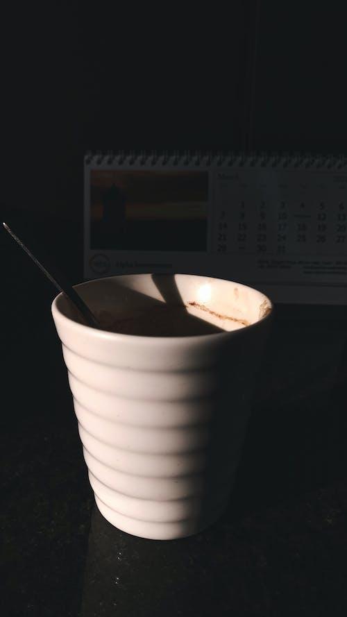 Free stock photo of black coffee, calendar, coffee