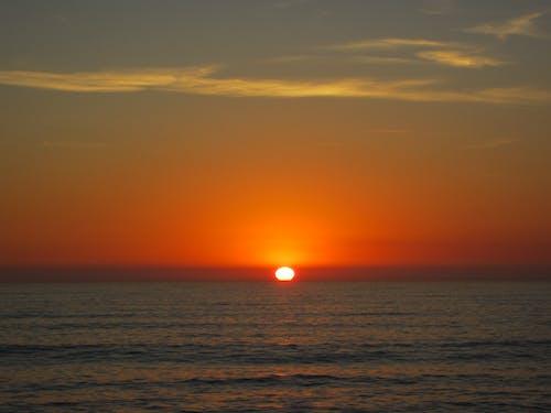 Základová fotografie zdarma na téma moře, oceán, svítání, západ slunce