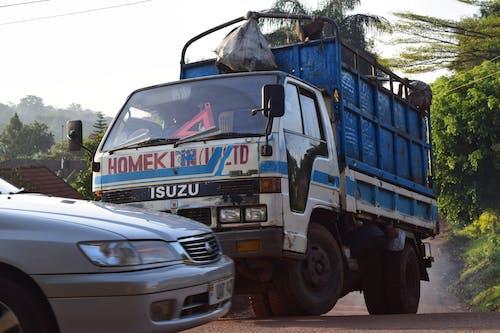 Free stock photo of garbage, kampala, truck