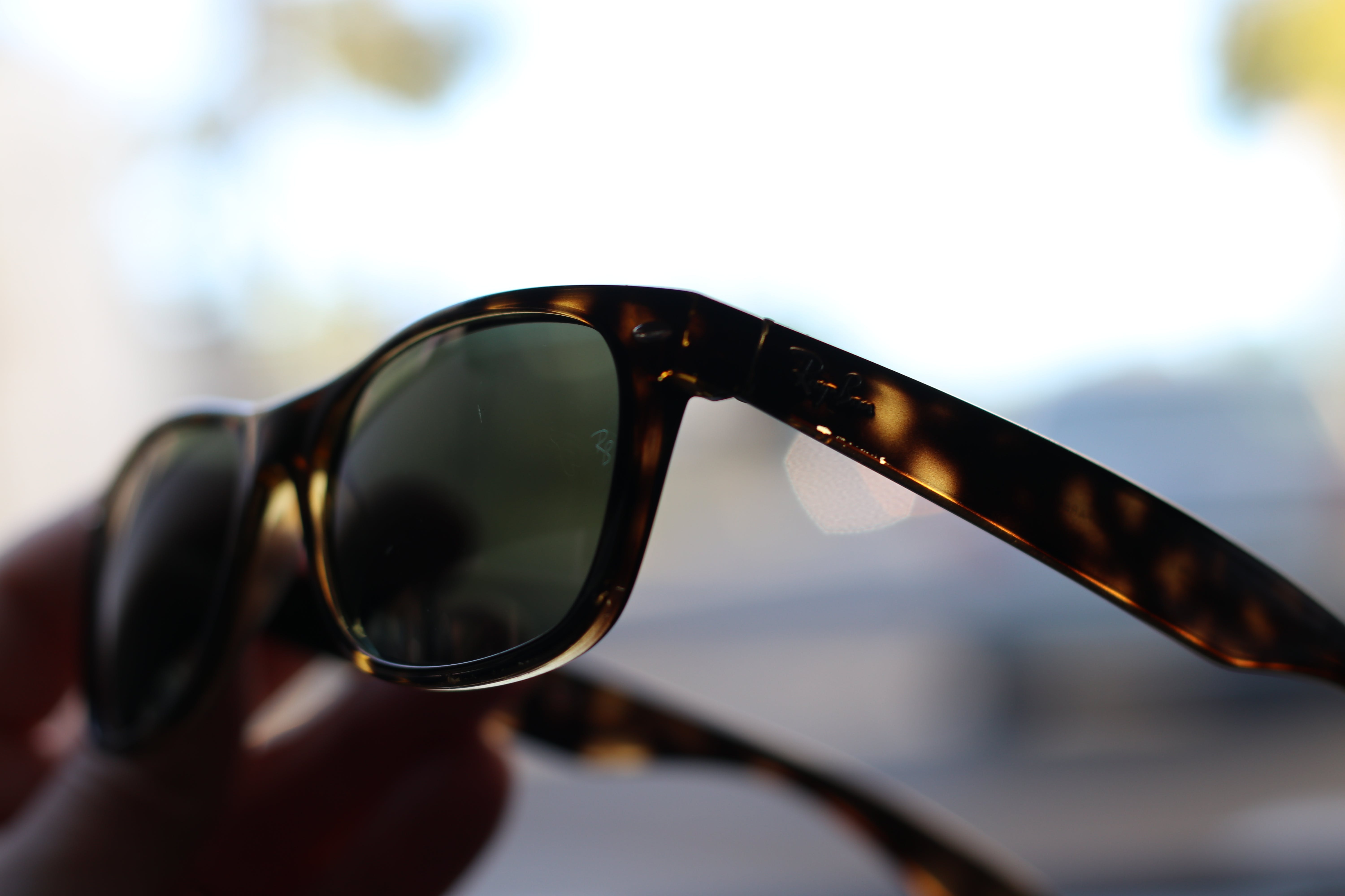 Free stock photo of sunglasses, ray ban
