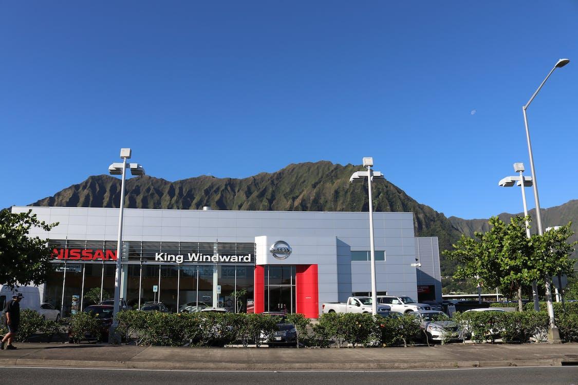 Free stock photo of hawaii car dealer, hawaii sky, king nissan
