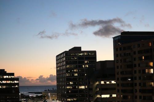 Free stock photo of colorful sky, hawaii, honolulu