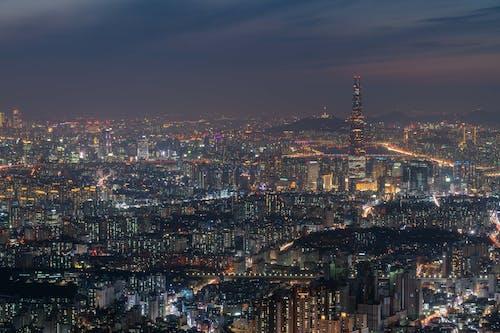 Immagine gratuita di città, corea, Corea del Sud