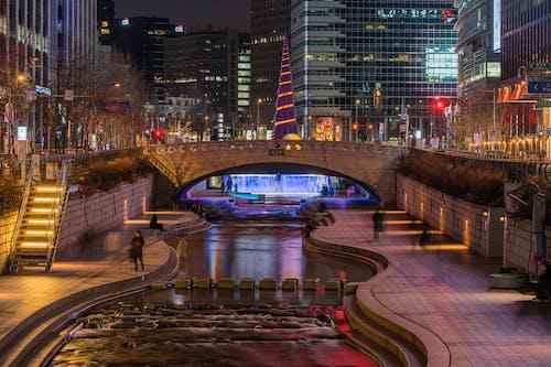 Immagine gratuita di acqua, cascata, città