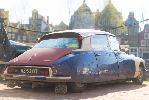amsterdam, araba, bağbozumu, citroen içeren Ücretsiz stok fotoğraf