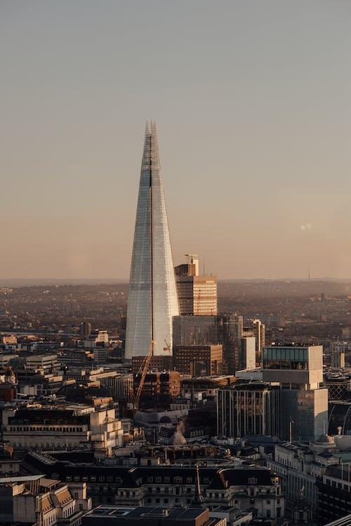 Foto profissional grátis de área metropolitana, arranha-céu, cênico