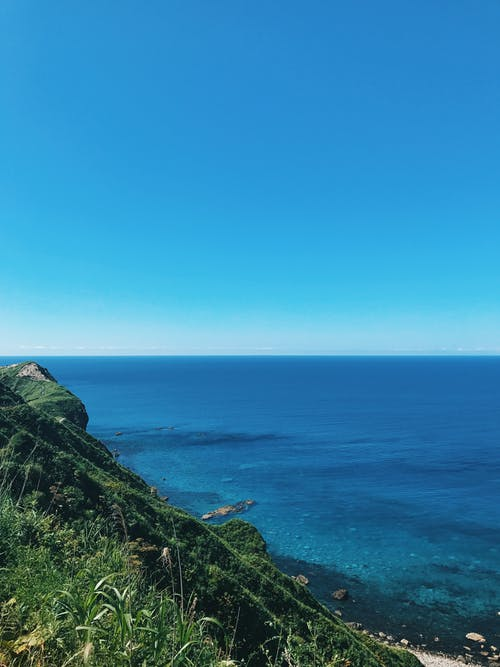 Free stock photo of #sea #mountain #nature #blue