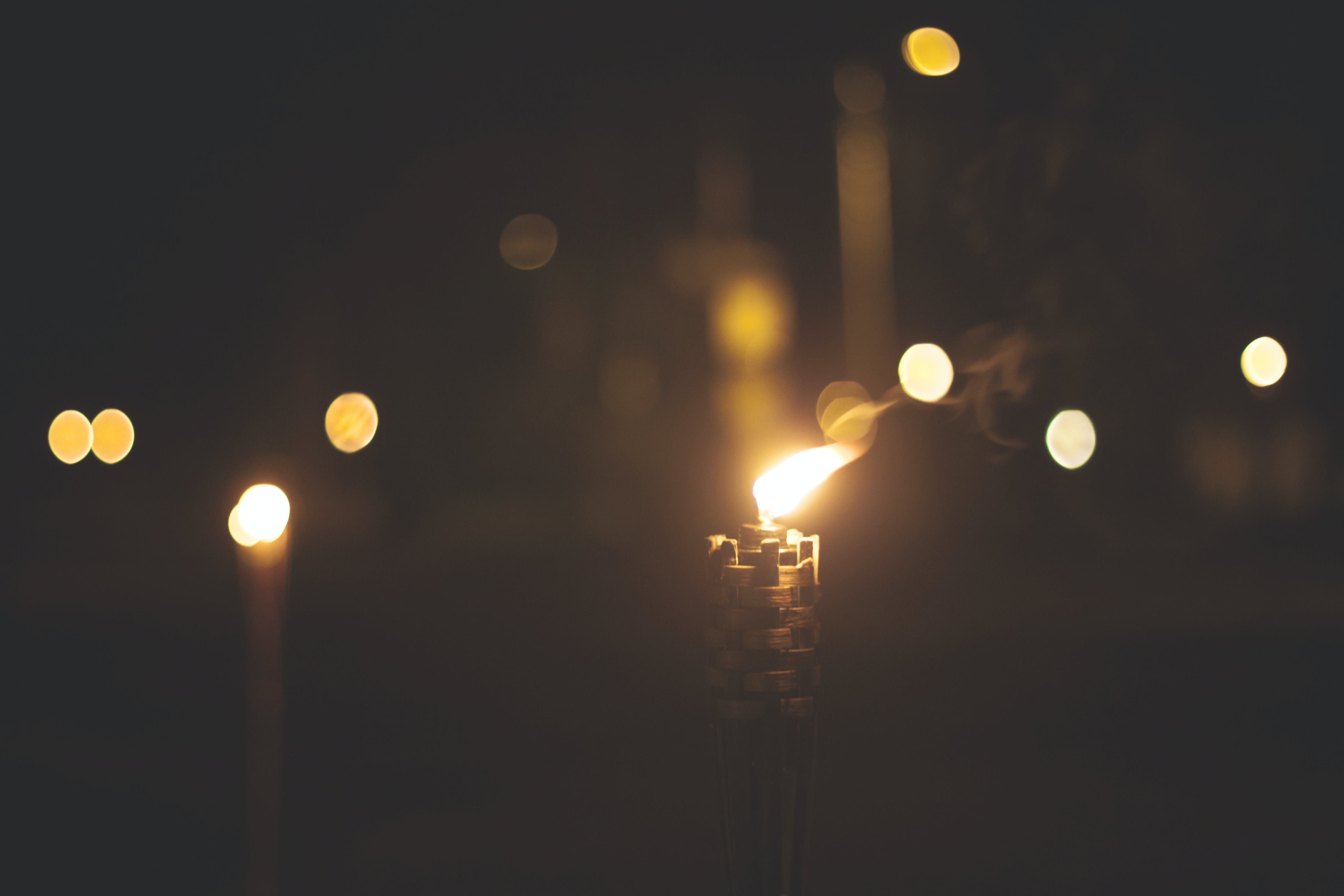 Free stock photo of candlelight, candles, fire, light