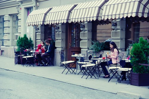 Free stock photo of bar cafe, city, city life, lithuania