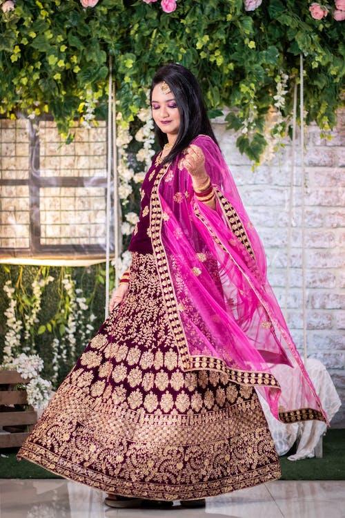Free stock photo of beautiful bride, bridal, bridal dress
