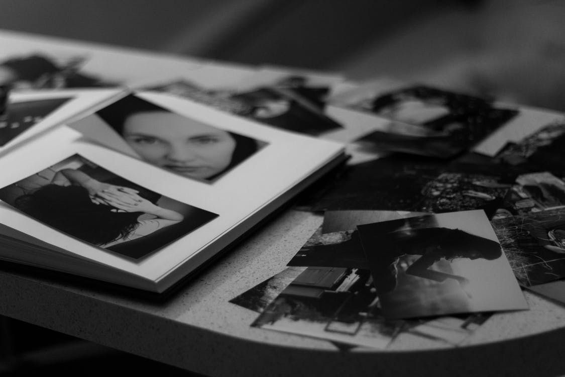 album, čierna a biela, čiernobiely