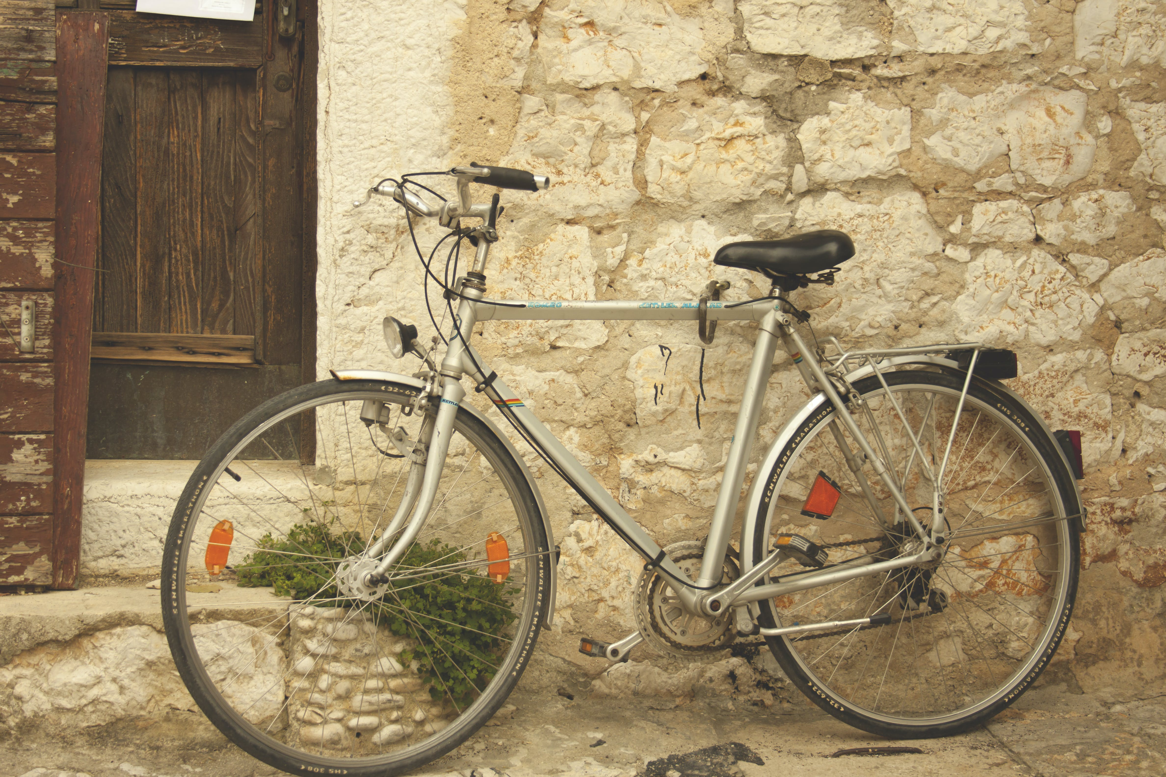 Free stock photo of old bike, old town, vintage