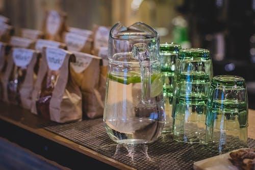 레몬에이드, 실내, 안경, 액체의 무료 스톡 사진