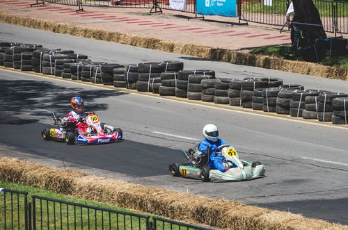 Free stock photo of auto racing, competition, high speed, kart