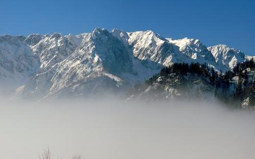 Free stock photo of fog, mountain range, rock mountain