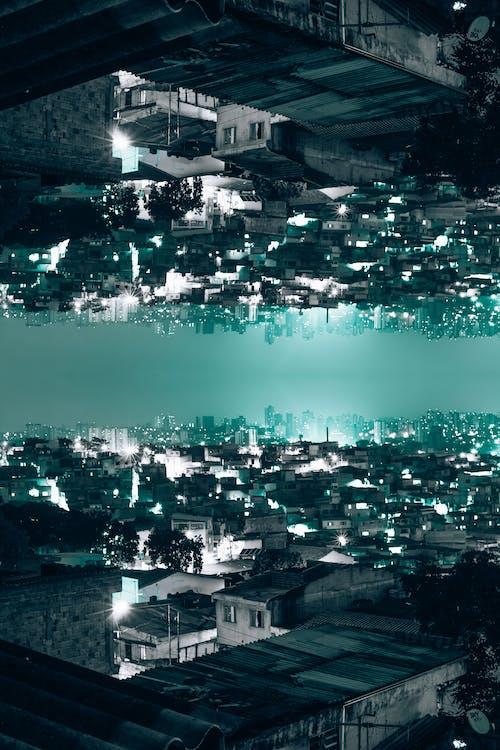 Foto profissional grátis de Brasil, favela, paisagem, vida noturna