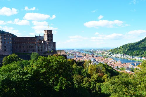 Free stock photo of castle, germany, heidelberg