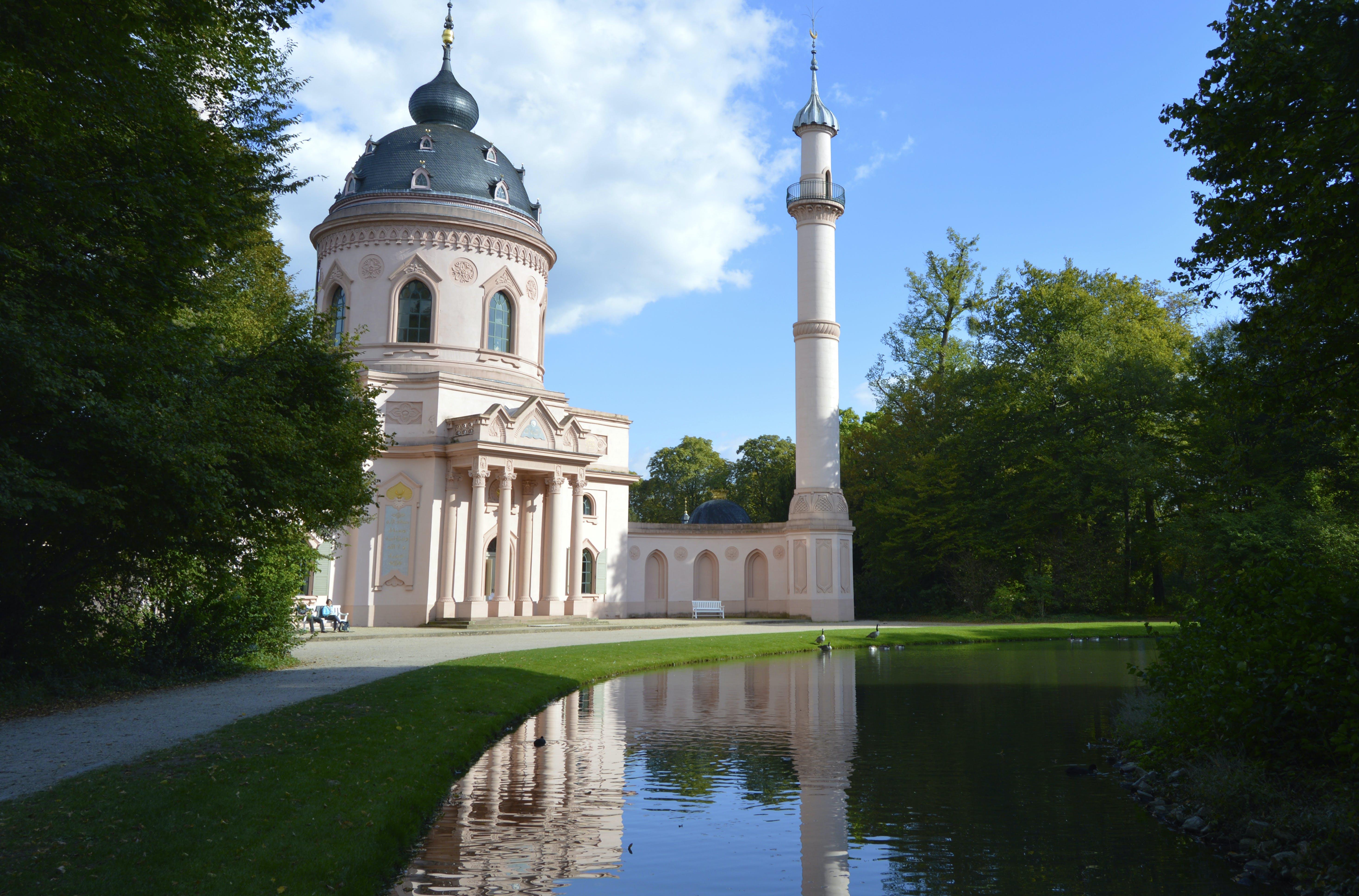 Free stock photo of mosque, palace, Schloss, schwetzingen