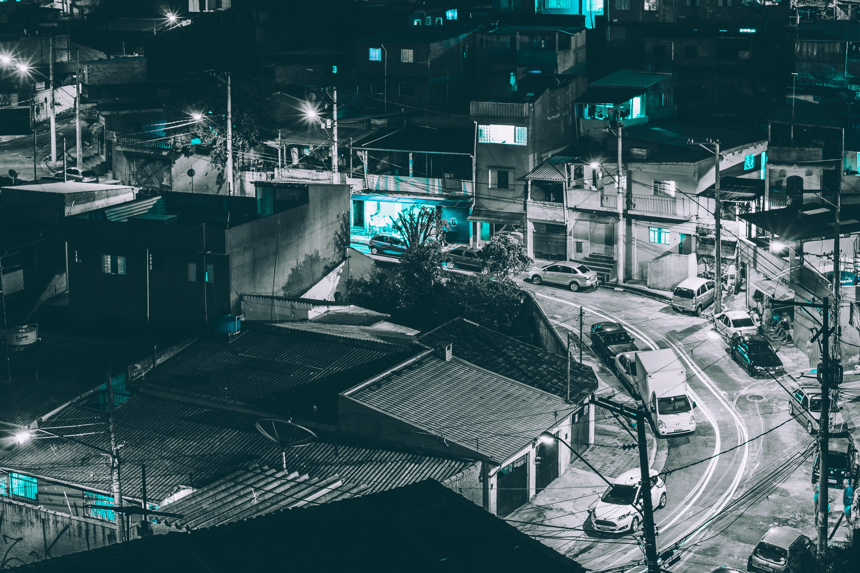 Free stock photo of brasil, brazil, favela, long exposure
