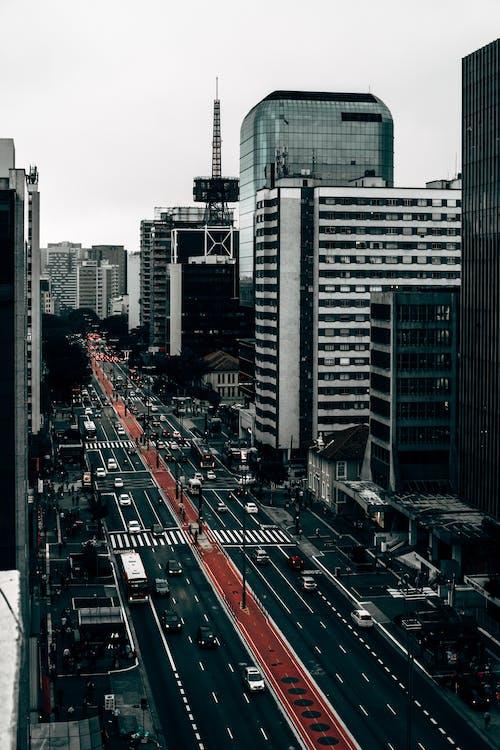 Gratis lagerfoto af avenida paulista, Brasilien, bygninger, paulista avenue