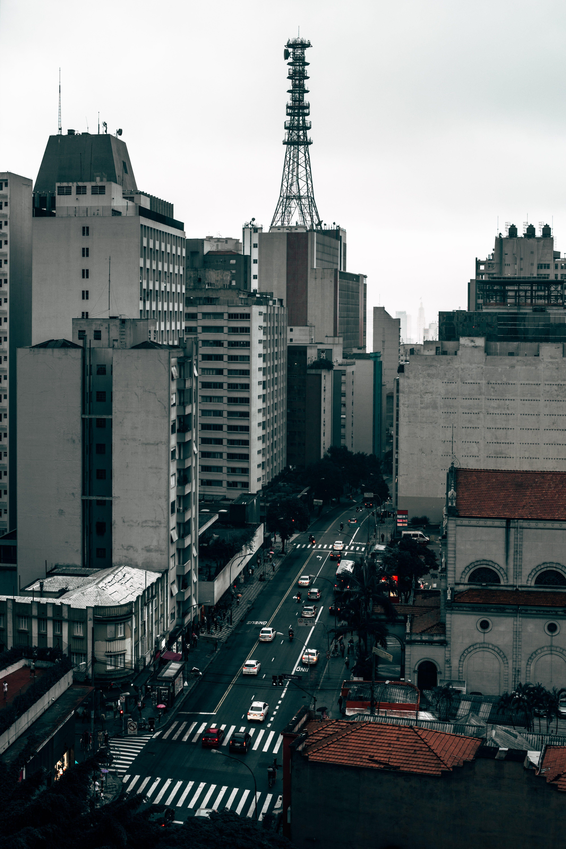 Free stock photo of buildings, urban scene