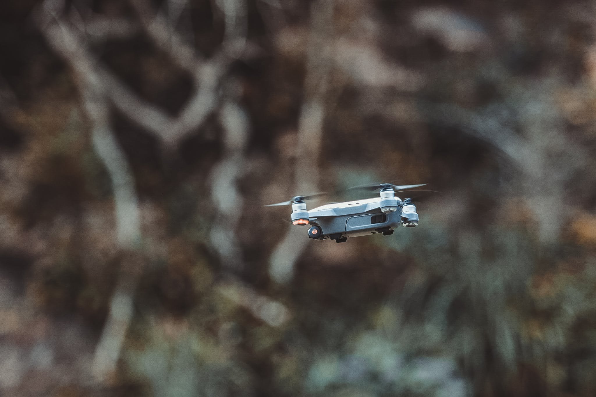 Quadcopter Drone Flying