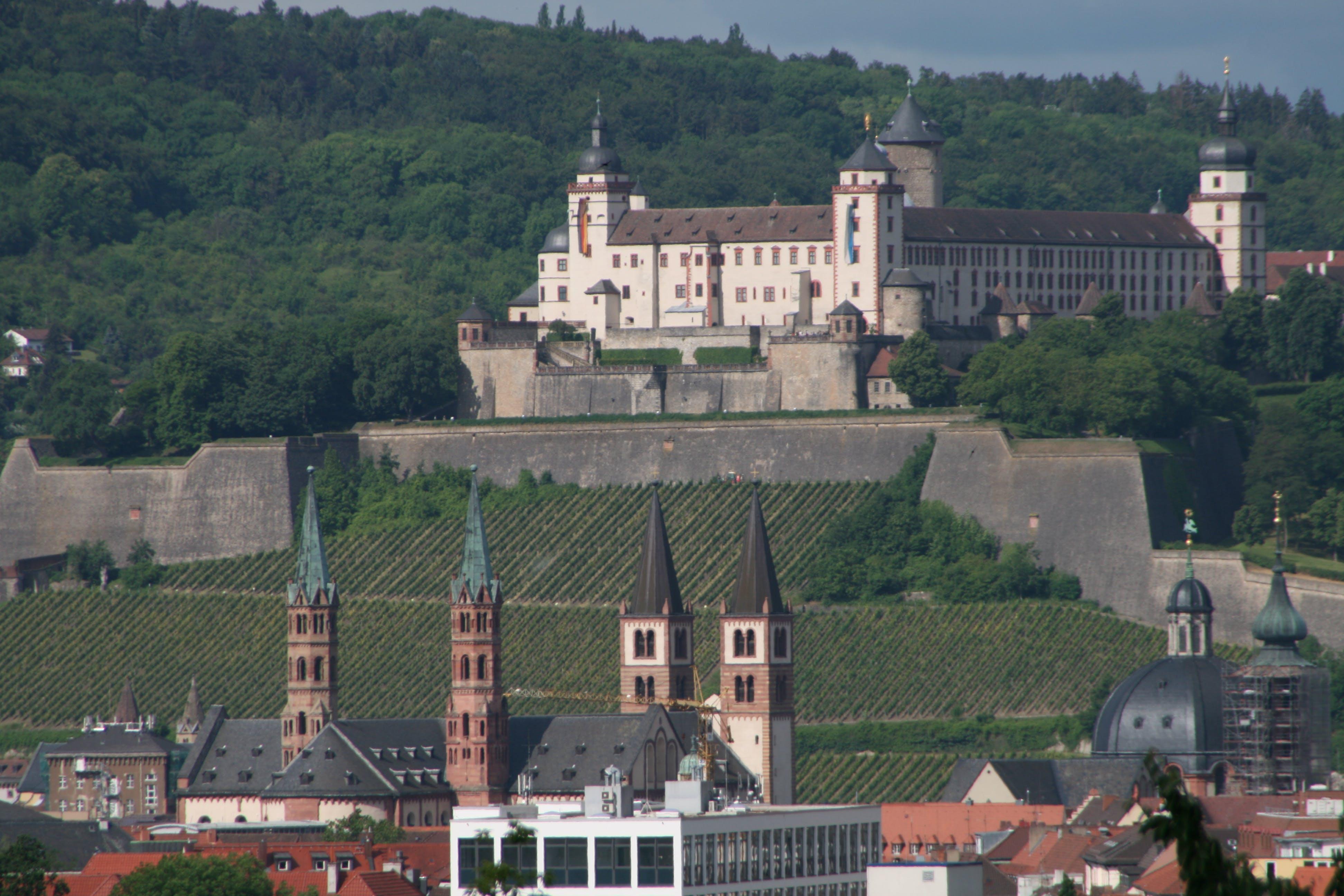 Kostenloses Stock Foto zu deutschland, festung, skyline, stadt