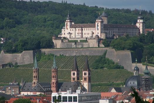 Free stock photo of city, skyline, germany, Würzburg