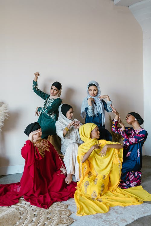 Group of Women in Traditional Dress