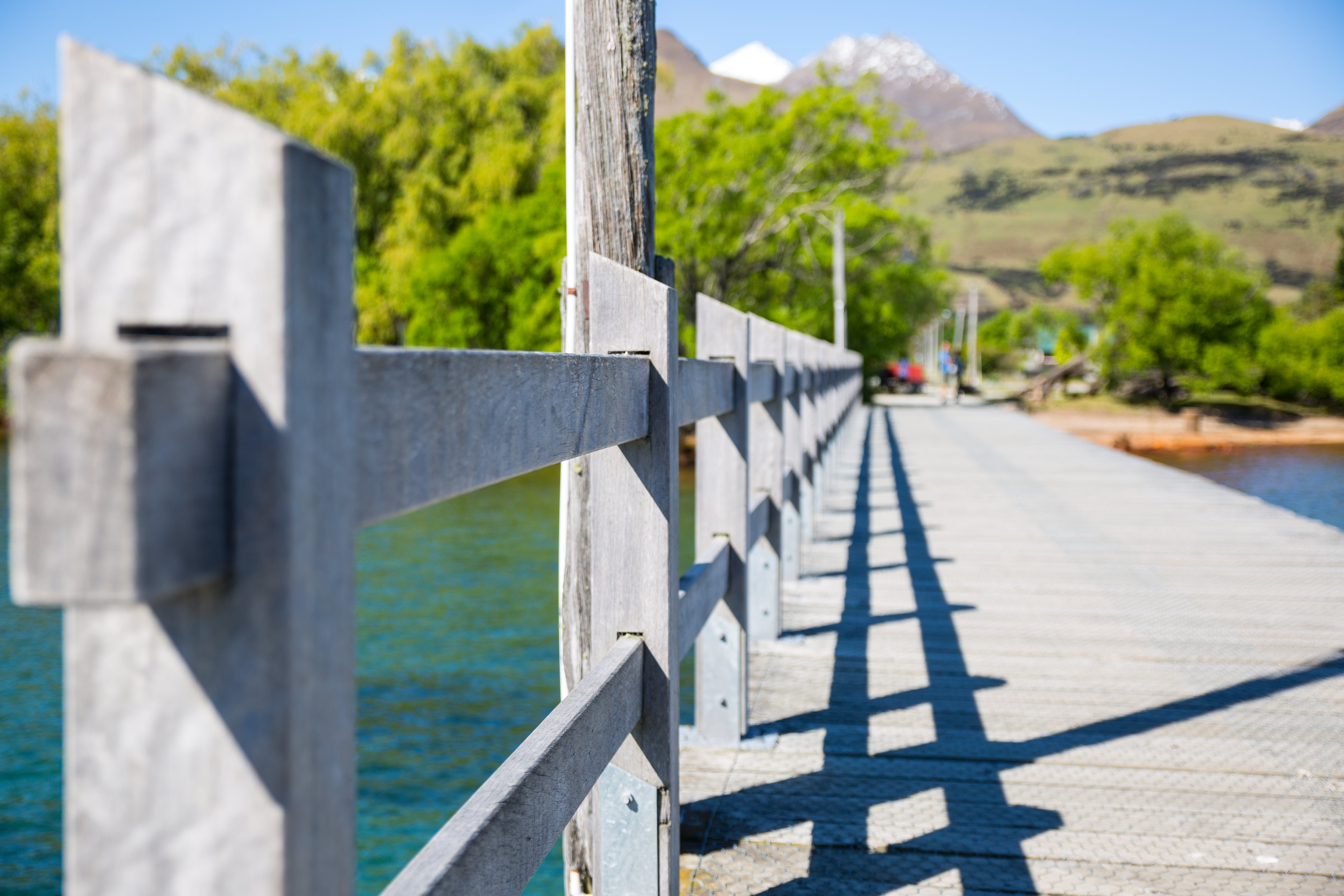 Gray Wooden Bridge
