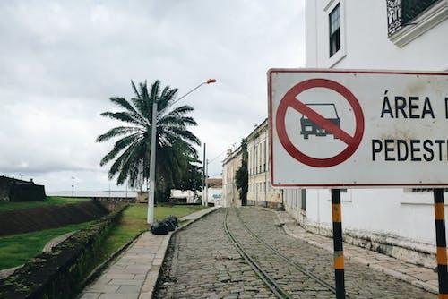 Free stock photo of Área de pedestres, castelo forte, lugar turístico