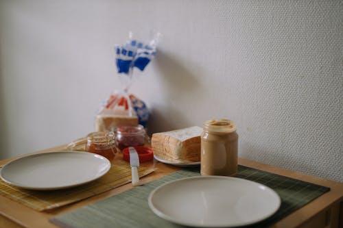 Breakfast Setting on Table Top