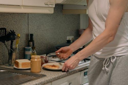 Základová fotografie zdarma na téma horní čítač, příprava jídla, vaření