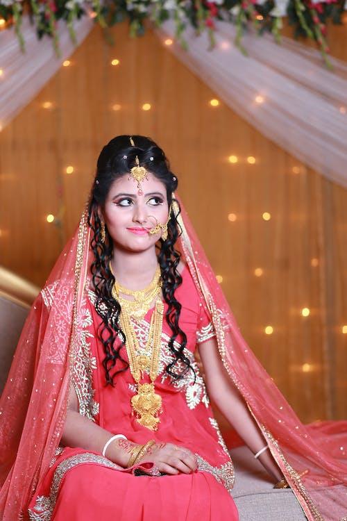 Безкоштовне стокове фото на тему «індійський, аксесуари, весілля, веселий»
