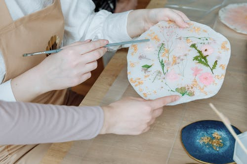 Artworks on Plates