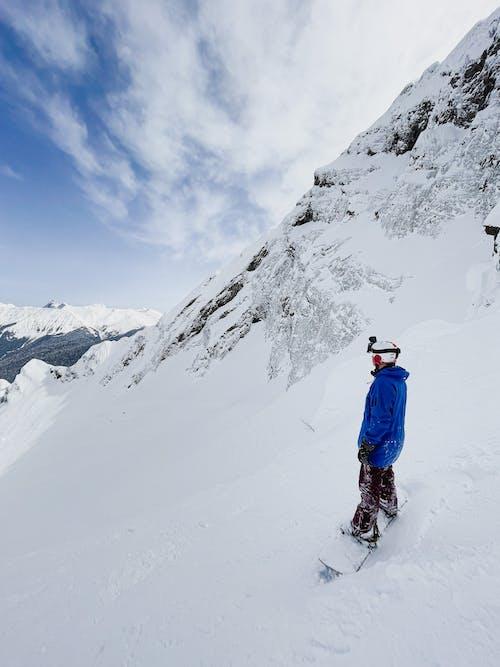 Imagine de stoc gratuită din acțiune, alpinism montan, alpinist
