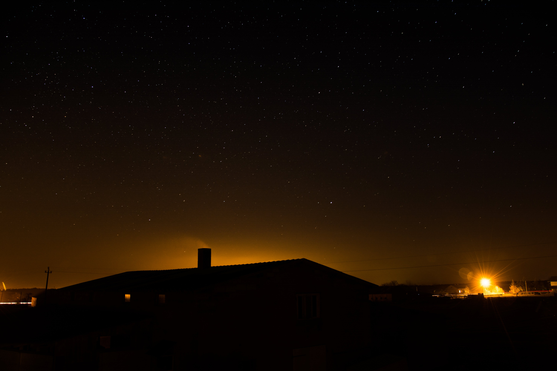 Free stock photo of sky, night, stars, long night