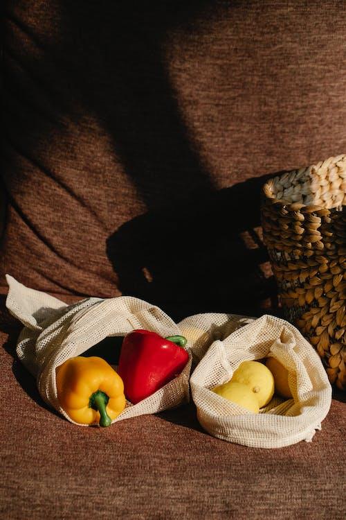가방, 감귤류, 건강식품의 무료 스톡 사진