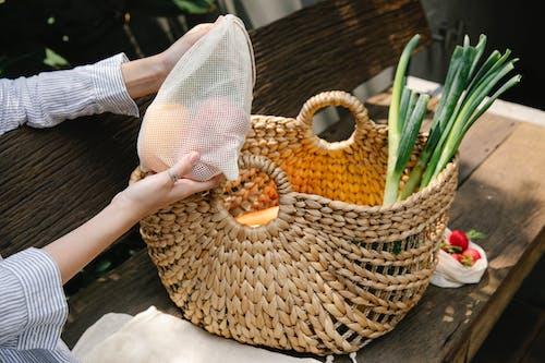 가방, 경작하다, 고리버들의 무료 스톡 사진