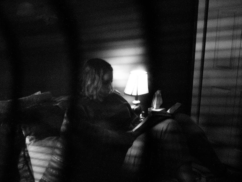lezen, lief, nacht