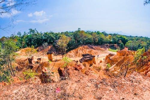 Бесплатное стоковое фото с вид, геологический, геология, глина