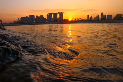 Free stock photo of coast, marina bay sands, singapore