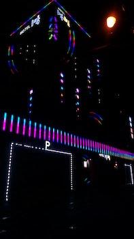 Free stock photo of lights, night, hotel, building