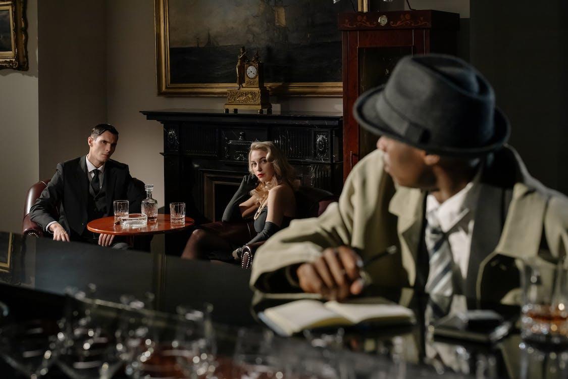 人, 休息室, 侦探 的 免费素材图片