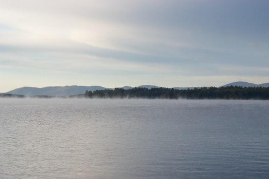 Free stock photo of fog, haze, foggy, lake