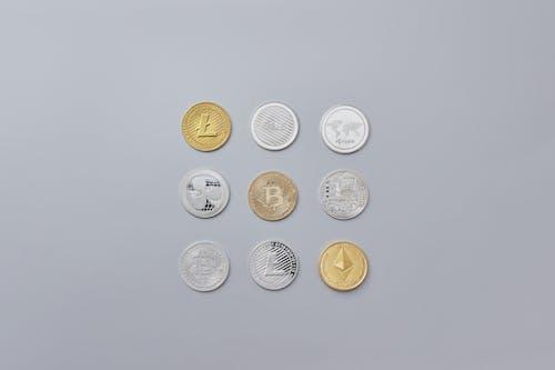 altın paralar, bozuk para, bozukluk içeren Ücretsiz stok fotoğraf