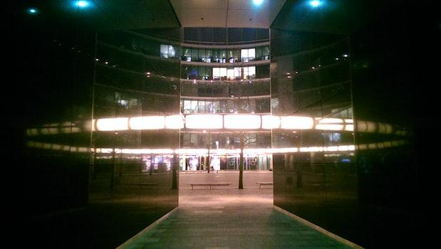 Free stock photo of light, square, warsaw