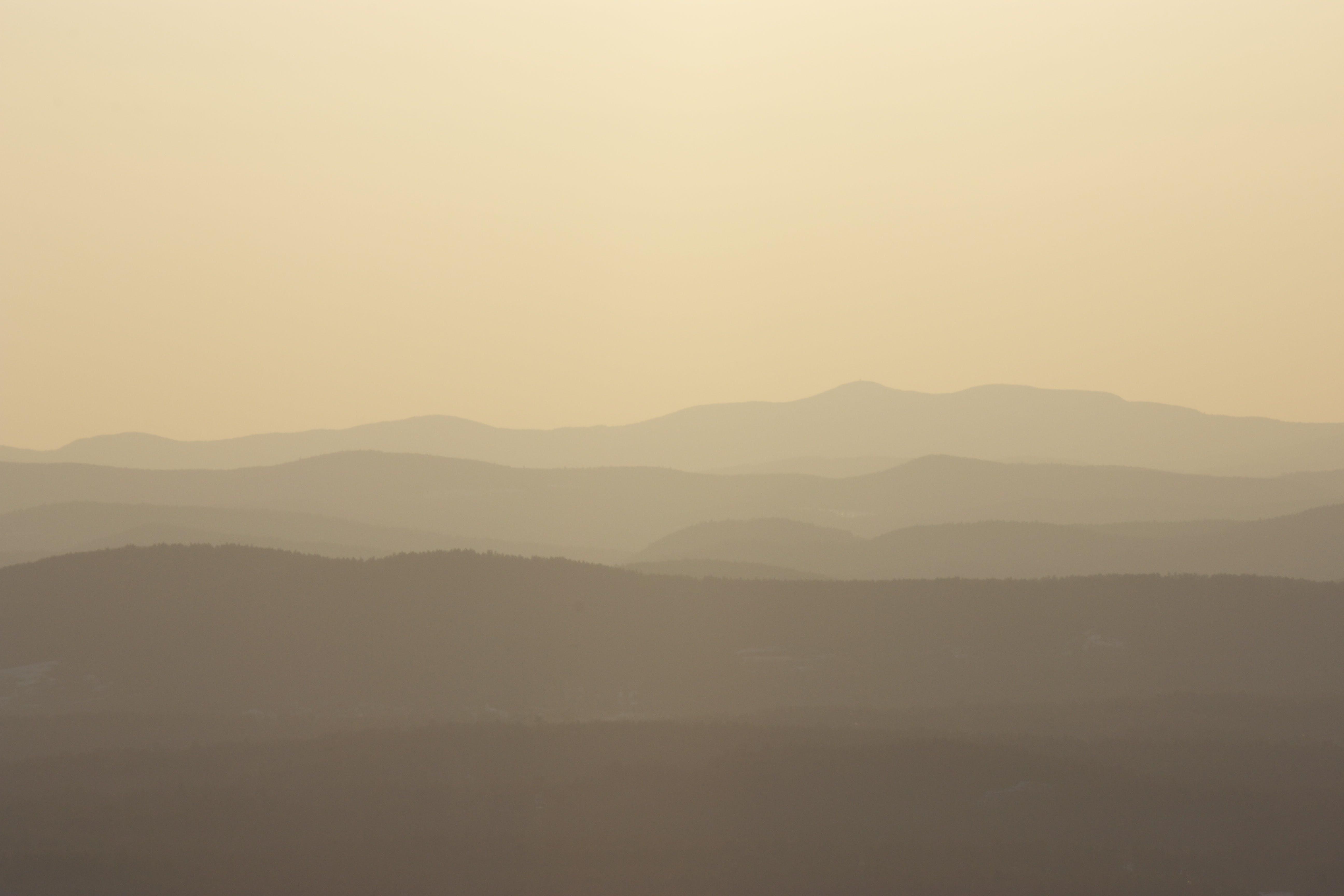 Free stock photo of mountains, silhouette