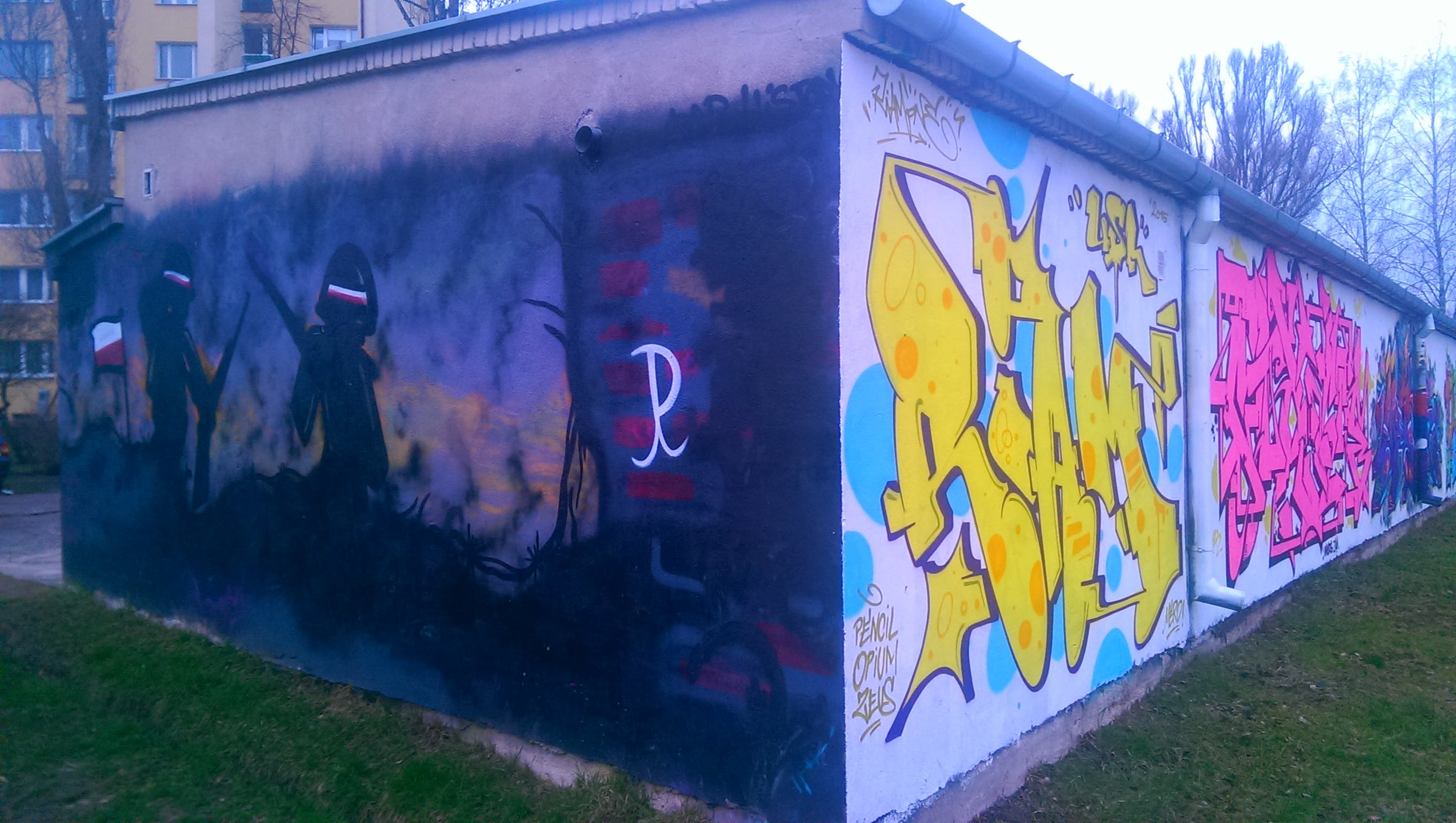 Free stock photo of graffiti, warsaw